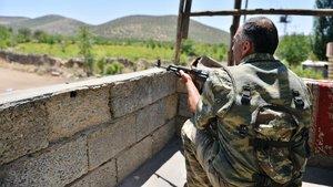 """Mardin'de """"geçici askeri güvenlik bölgesi"""" uygulaması"""