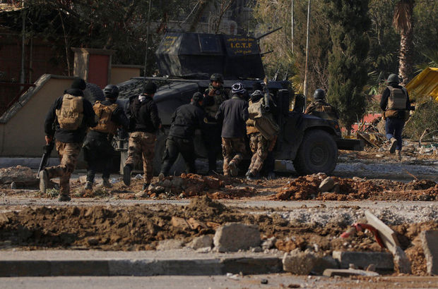 Musul operasyonunda kritik binalar kurtarıldı!