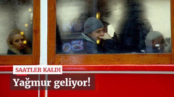 Marmara ve Ege yağmurlu
