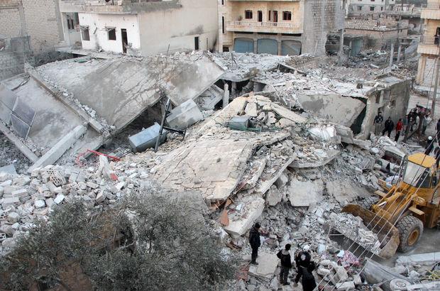 İdlib'de pazar yerine hava saldırısı!