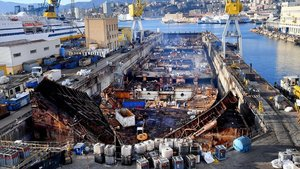 Costa Concordia gemisi hurdaya dönüştü