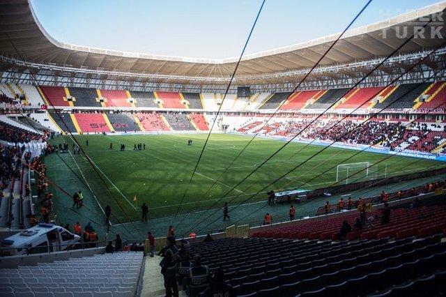 Gaziantep Arena açıldı
