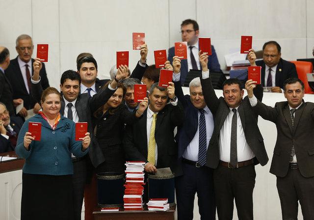 CHP'den Meclis'te yeni protesto