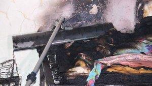 Zonguldak'ta ev yangını: 1'i ağır, 2 yaralı