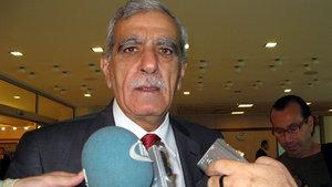 Ahmet Türk Elazığ'a nakledildi