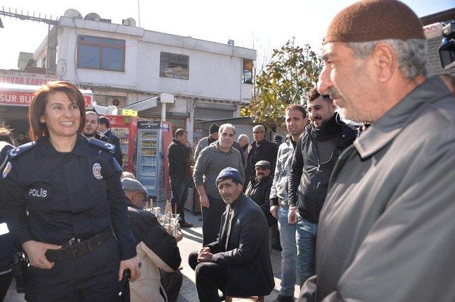 Sur'un güvenliği kadın müdüre emanet, Diyarbakır Sur İlçe Emniyet Müdürü Asuman Karacık oldu