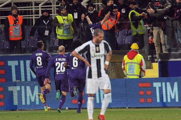 Fiorentina: 2 - Juventus: 1   MAÇ SONUCU