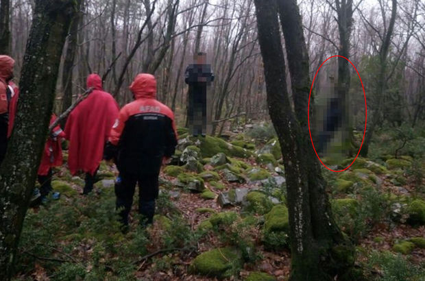 Bursa'da 4 gündür kayıp olan adamın cesedi ağaca asılı bulundu