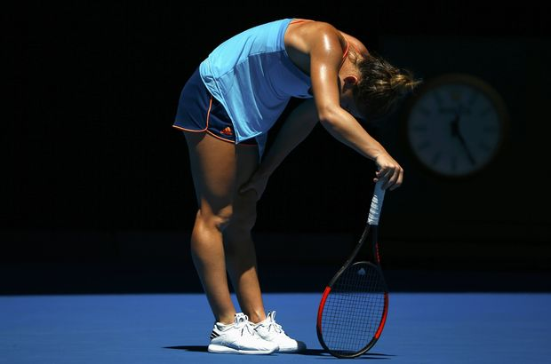 Simona Halep, Avustralya Açık'a veda etti