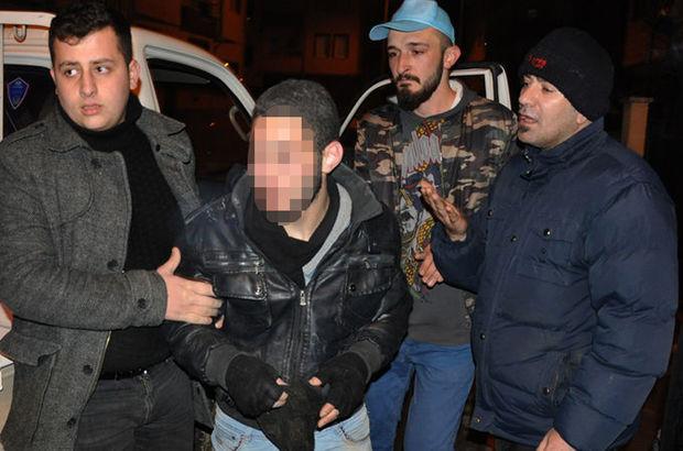 Bursa'da kuyumcunun altın dolu çantasını çalan Suriyeli'yi, mahalleli gençler yakaladı