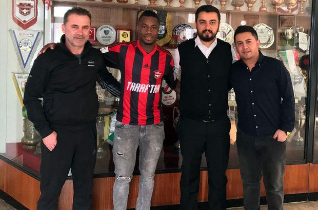 Gaziantepspor, Yoiver Gonzalez'i transfer etti