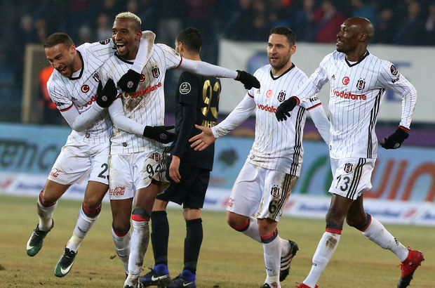 Osmanlıspor: 0 - Beşiktaş: 2 | MAÇ SONUCU