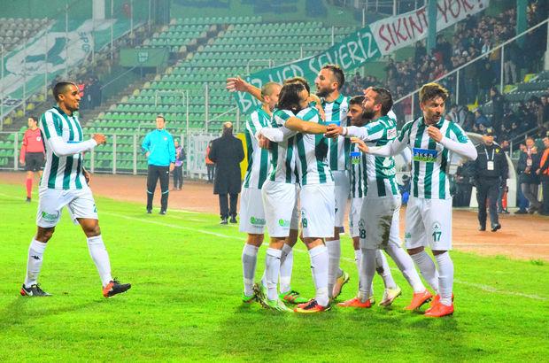 Giresunspor: 2 - Büyükşehir Gaziantepspor: 1