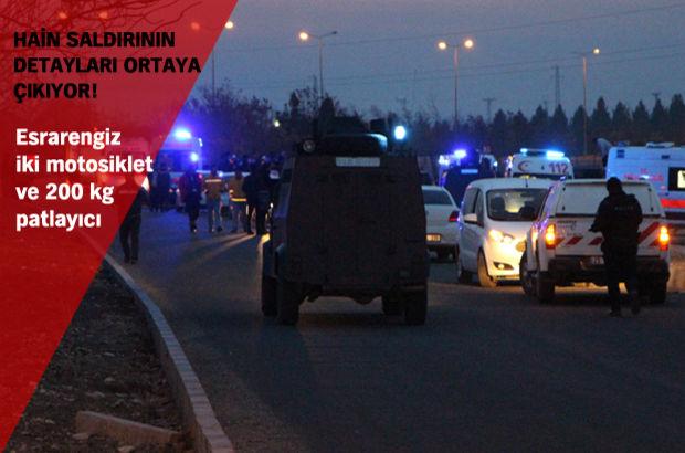 Diyarbakır'da polise saldırı: 4 şehit