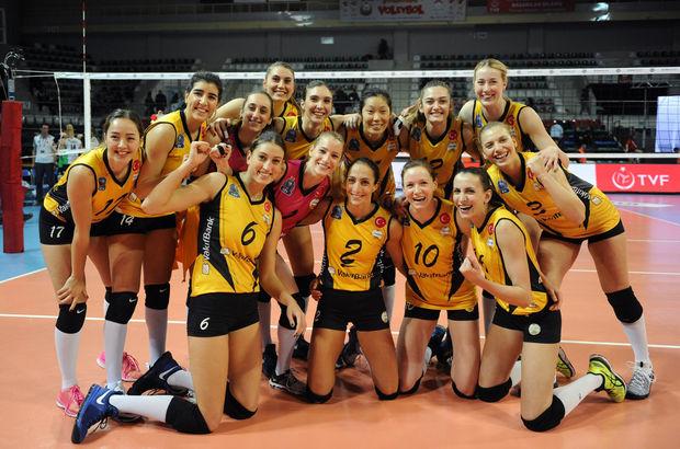 VakıfBank: 3 - Bursa Büyükşehir Belediyespor: 0