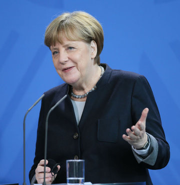 Merkel'den Trump yanıtı