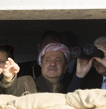 Barzani hakkındaki iddialara jet yanıt