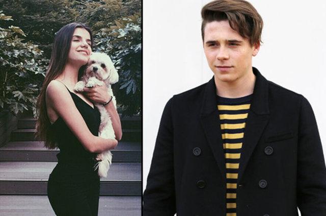 Brooklyn Beckham'ın eski sevgilisi Sonia Ben Ammar ünlü oldu