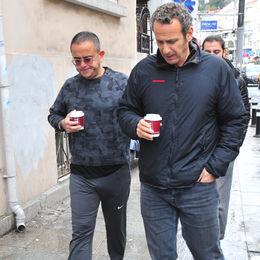 Yürüyüş sonrası kahve keyfi