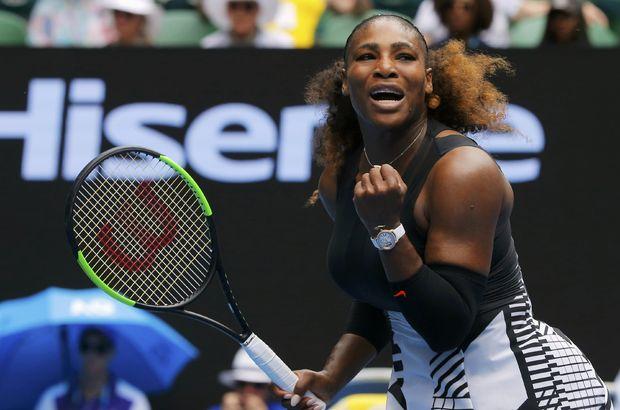 Serena Williams ve Milos Raonic, Avustralya Açık'ta 2. tura yükseldi