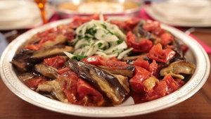 Piyazlı patlıcan tarifi