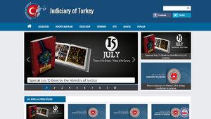 """Adalet Bakanlığı """"yargı""""yı İngilizce sitede anlatıyor"""