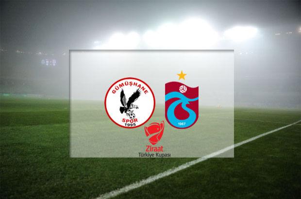 Gümüşhanespor - Trabzonspor maçı hangi kanalda, saat kaçta, ne zaman?