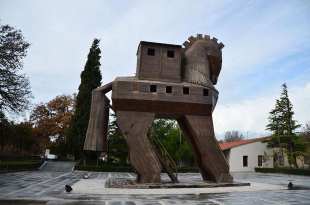 Antik Yunan kenti Truva'ya ziyaretçi akını