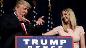 Trump, kızı Ivanka'yı başkasıyla karıştırdı!
