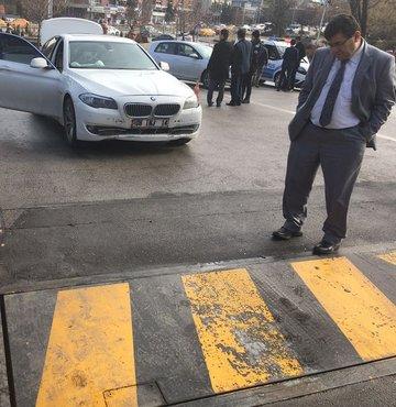 Meclis'te 'görünmez' kaza