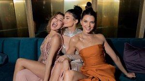 Kendall Jenner'ın bacağı nerede?