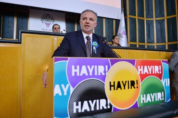 HDP'li Ayhan Bilgen: Halklar ve özgürlükler için 'hayır' diyeceğiz