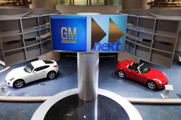 GM'den ABD'ye 1 milyar dolarlık yatırım