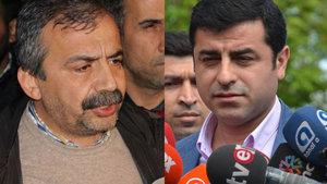 Selahattin Demirtaş ve  Sırrı Süreyya Önder'in yargılanmasına başlandı