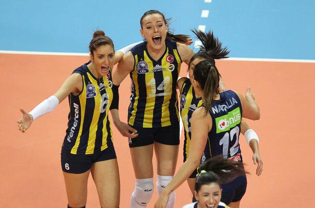 Kupa Voley'de zafer Fenerbahçe'nin