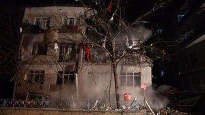 Ankara'daki patlamadan görüntüler
