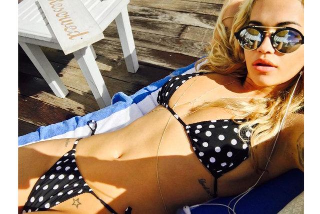 Rita Ora'nın 11 milyon sevinci
