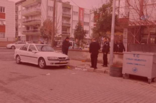 Aydın'da çocuklarının gözleri önünde başına tornavida sapladılar!
