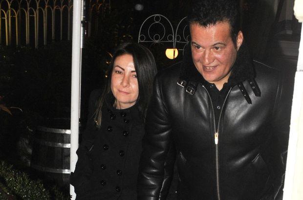 Hakan Peker, eşi Arzu Öztoprak'la Etiler'de görüntülendi