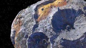 Asteroit Kuşağı'ndaki gök taşında 10 bin katrilyon dolar değerinde maden var