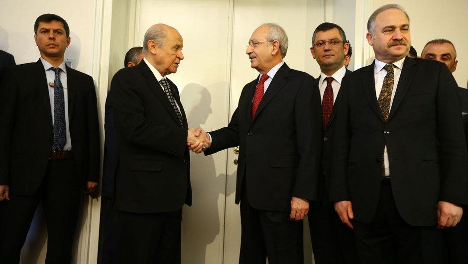 Kılıçdaroğlu ile Bahçelinin görüşmesi sonrası ilk açıklama
