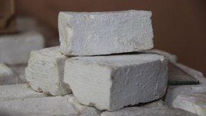 Kışın kuruyan ciltlere eşek sütü sabunu