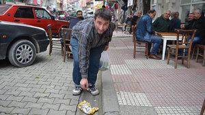 Murat Bayar mıntıka temizliği hastası oldu!