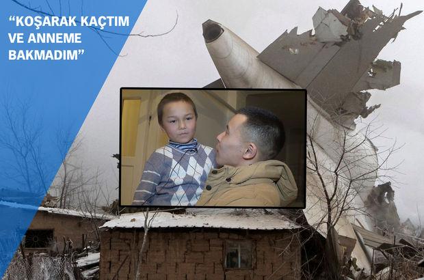 Kırgızistan'da düşen uçağın altından yürek burkan bir hikaye çıktı!