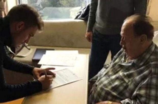81 yaşındaki İlhan Cavcav, transferi hastanede yaptı
