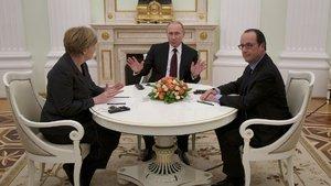 Fransa, Almanya ve Rusya'dan kritik görüşme