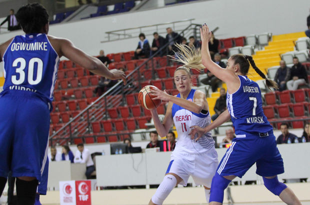 Mersin Büyükşehir Belediyespor: 70 - Dinamo Kursk: 84
