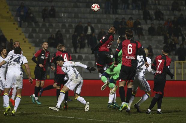 Gençlerbirliği: 2 - Fenerbahçe: 2 | MAÇ SONUCU
