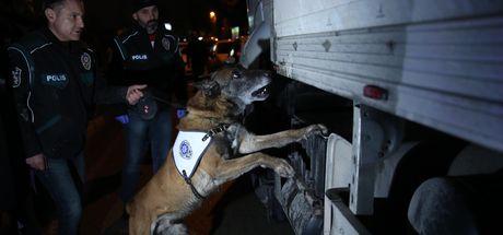 Bursa'da TIR'dan 7 milyon TL'lik eroin çıktı