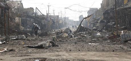 Terör örgütü DEAŞ, Musul'u harabe halde bıraktı